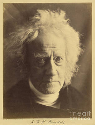 Photograph - John Frederick William Herschel 1867 by Getty Research Institute