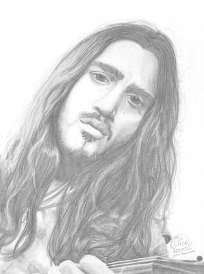 John Frusciante Art Print by Olivia Schiermeyer