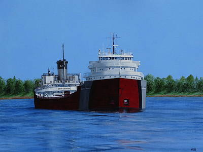 Painting - John G Munson by Vicky Path
