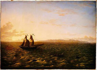 Sea Painting - John Glover The Island Of Madeira Google Art Project by MotionAge Designs