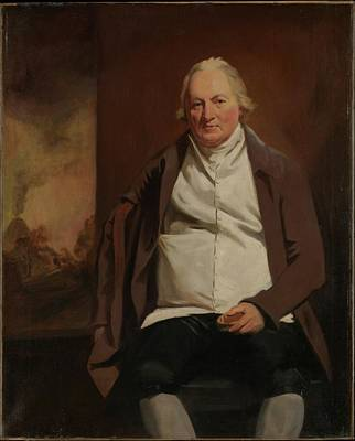 John Gray 1731-1811 Of Newholm Art Print by Sir Henry Raeburn