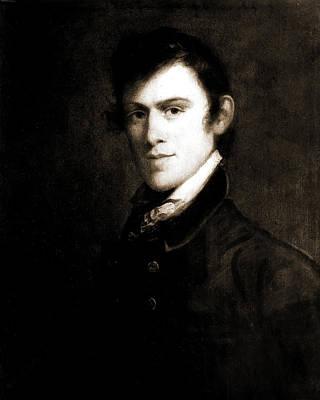 John Grimes, Head-and-shoulders Portrait, 1812 Art Print