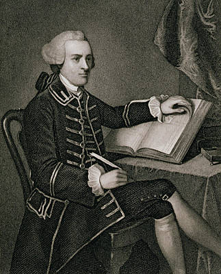 Book Jacket Painting - John Hancock by American School