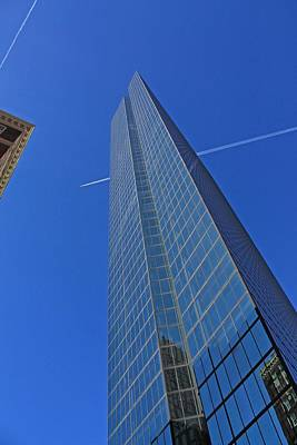 Photograph - John Hancock Building 1 by Michael Saunders