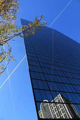 Photograph - John Hancock Building 2 by Michael Saunders