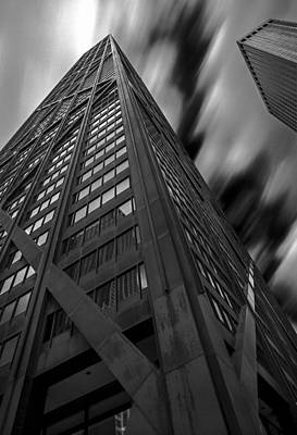Photograph - John Hancock Building 73a7300 by David Orias