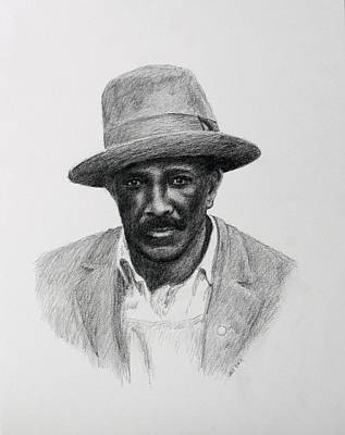 Drawing - John Hearn by Daniel Reed