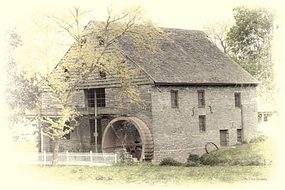 Photograph - John Herr Grist Mill  by Dyle   Warren