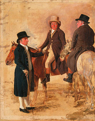 Worthy Painting - John Hilton, Judge Of The Course At Newmarket John Fuller by Litz Collection