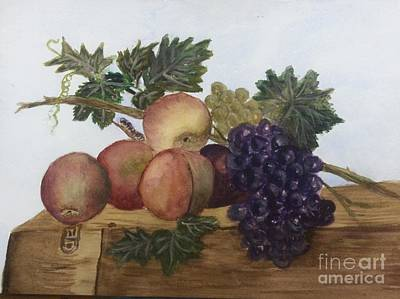 Remodernist Painting - John Johnson Still Life In Watercolor by Donna Walsh