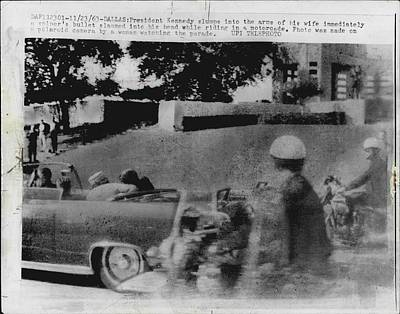 Assassination Photograph - John Kennedy Assasination by Retro Images Archive