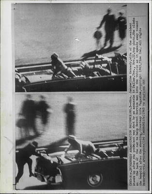 Assassination Photograph - John Kennedy Dallas Assasintation by Retro Images Archive