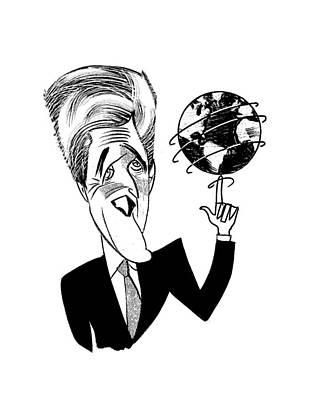 John Kerry Earth Day Art Print
