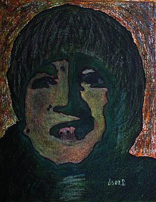 Painting - John Lennon 1  by Oscar Penalber