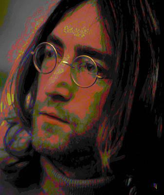 John Lennon 2 Art Print by  Fli Art