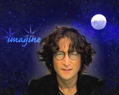John Lennon Art Print by Anthony Caruso