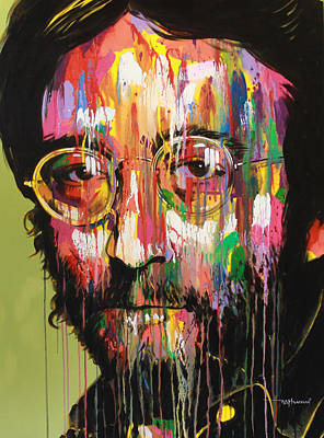 John Lennon Art Print by Bruce McLachlan