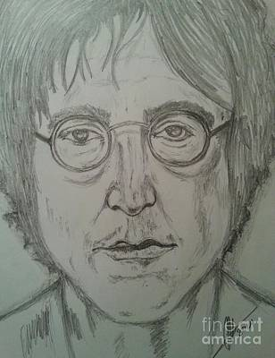 John Lennon Art Drawings Drawing - John Lennon by Collin A Clarke
