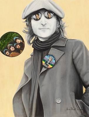 John Lennon-give Peace A Chance Art Print