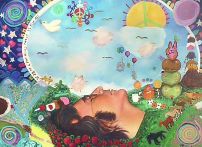 John Lennon - Imagine Nation Original by Emiliano Campobello