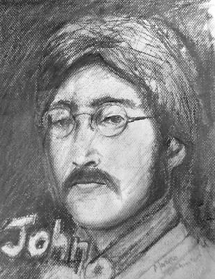 Buy Drawing - John Lennon by Marcello Cicchini