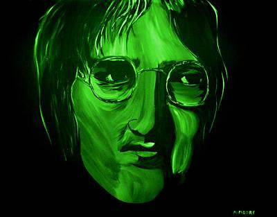 John Lennon Art Print by Mark Moore