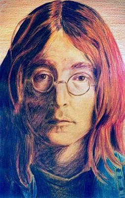 Painting - John Lennon by Nieve Andrea