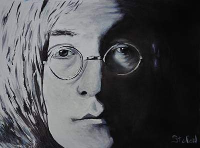 Painting - John Lennon by Stefon Marc Brown