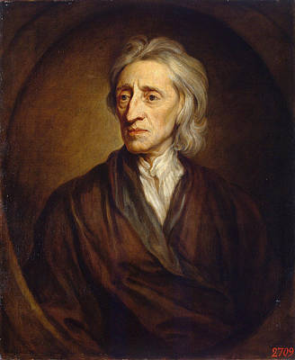 Kneller Painting - John Locke by Godfrey Kneller