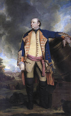 Colonel Wall Art - Painting - John Manners Marquess Of Granby, C.1763 by Sir Joshua Reynolds