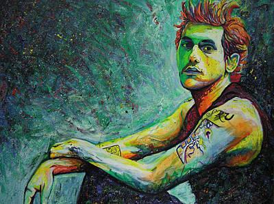 John Mayer Art Print by Joshua Morton