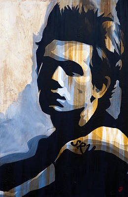 John Mayer Painting - John Mayer Misunderstood by Brad Jensen