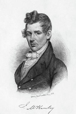 Justice Painting - John Mckinley (1780-1852) by Granger