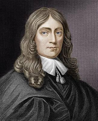 John Milton (1608-1674) Art Print by Science Photo Library