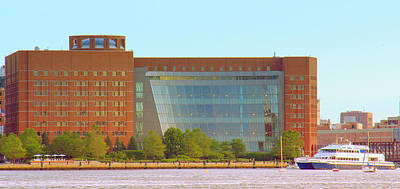 Photograph - John Moakley Courthouse by Caroline Stella
