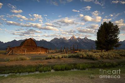 Photograph - John Moulton Barn by Deby Dixon