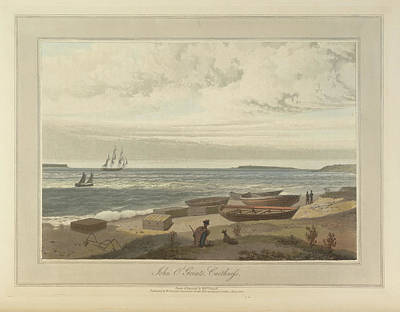 In The Round Photograph - John O'groats Headland In Caithness by British Library