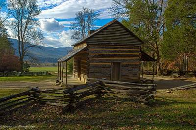 Photograph - John Oliver Cabin Cades Cove Tn by Paul Herrmann