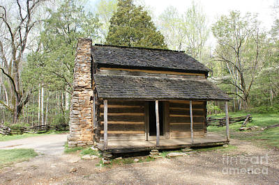 John Oliver Place In Cades Cove Art Print by Roger Potts