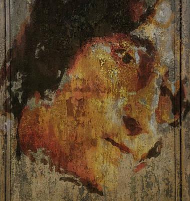 Beatles Life Music Digital Art - John On Texture 2 by Yury Malkov