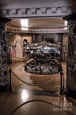 John Paul Jones Crypt Art Print by Olivier Le Queinec