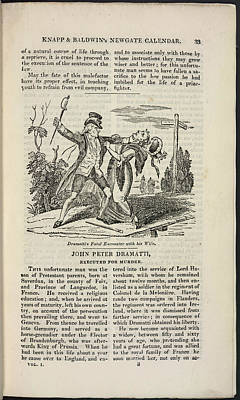 John Peter Dramatti Art Print by British Library