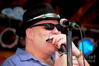 Photograph - John Popper by Angela Murray