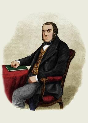 John Quekett Art Print by Maria Platt-evans