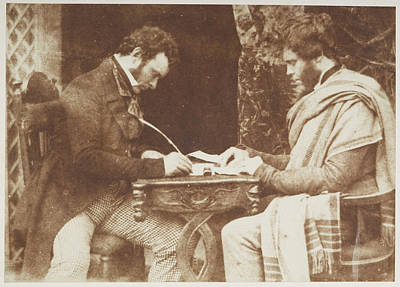 Portaits Photograph - John Robertson And Hugh Miller by British Library