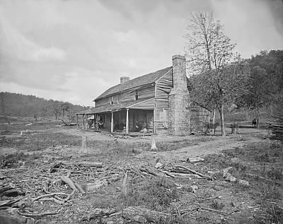 John Ross House Near Ringgold, Georgia Art Print by Stocktrek Images