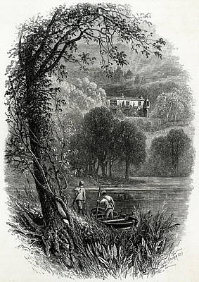 John Ruskin Home Of The English Art Art Print by Mary Evans Picture Library