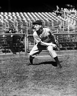 Philadelphia Phillies Stadium Photograph - John S. Johnny Podgajny by Retro Images Archive