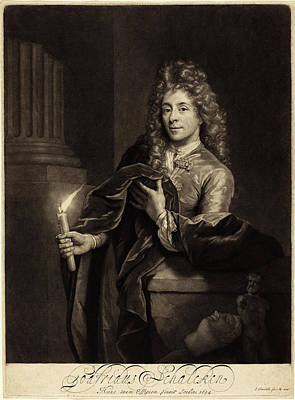 John Smith After Godfried Schalcken English Art Print by Quint Lox