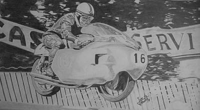 John Surtees Art Print by Jose Mendez